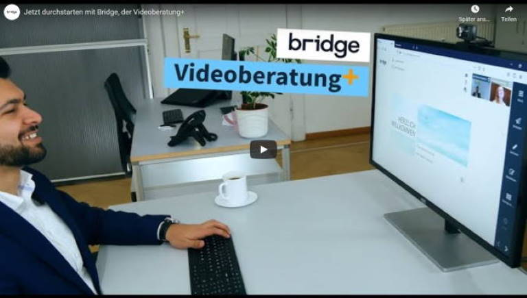 Video-Beratungssoftware Bridge