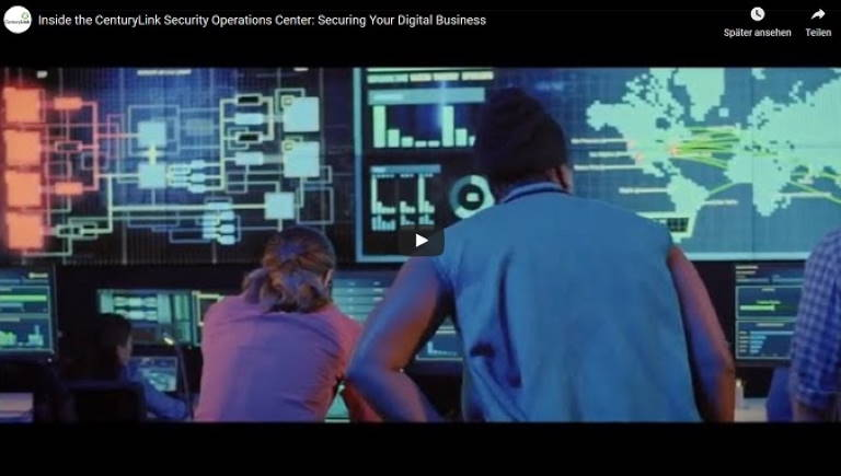 CenturyLink Security Operations Center